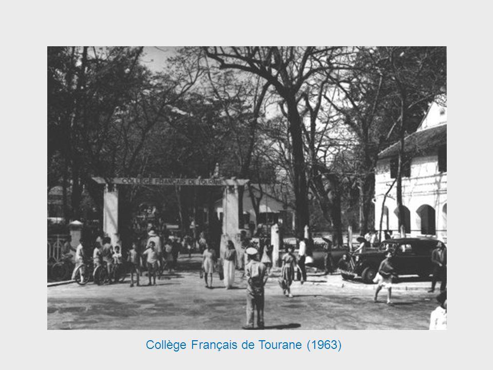 Le Collège Français de Tourane fut créé en 1955 à la fermeture du Lycée Français de Hu, puis avec lagrandissement de lécole et le changement du nom de