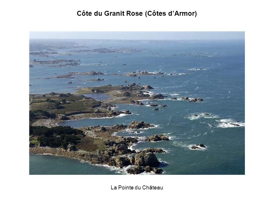 Les rochers de Ploumanach Côte du Granit Rose (Côtes dArmor)