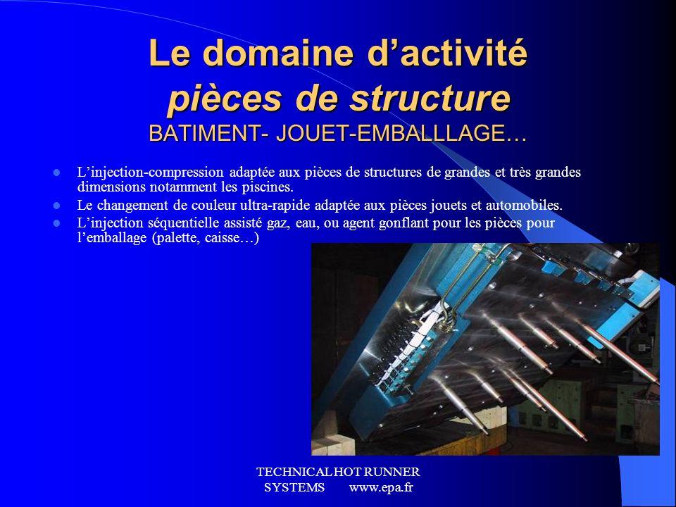 TECHNICAL HOT RUNNER SYSTEMS www.epa.fr Le SAV epa Les « Services + » Notre SAV intervient dans le monde (pays couverts) par sous réserve des selon de