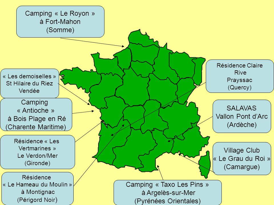 C.O.S. Commission Tourisme LOCATIONS DETE 2014