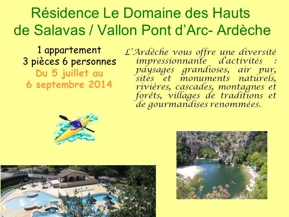 Résidence Le hameau du Moulin à Montignac - Périgord 3 appartements 2 pièces 6 personnes Du 5 juillet au 6 septembre 2014 Au cœur du Périgord Noir, Montignac est une cité chargée dhistoire.