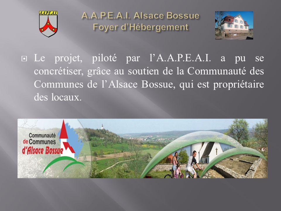 Le projet, piloté par lA.A.P.E.A.I.