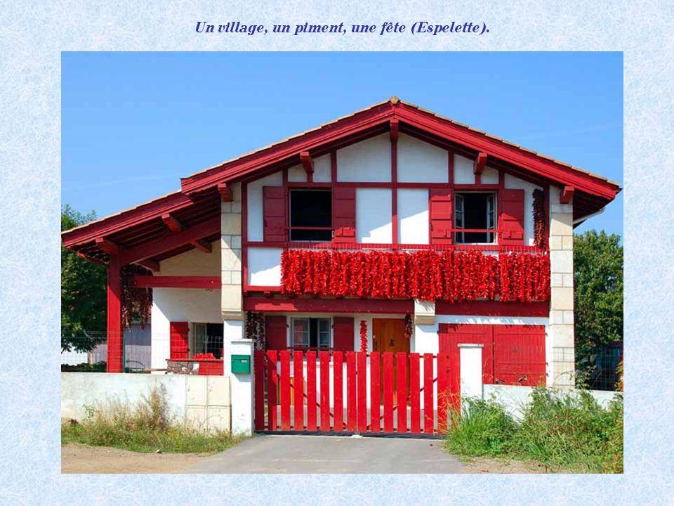 Village dAinhoa (Pays basque).
