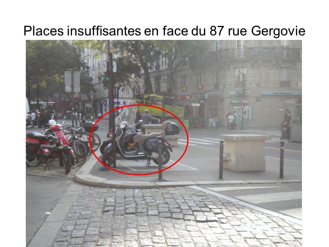 Alternative 3: En face du 50 rue de Gergovie (intersection Losserand)