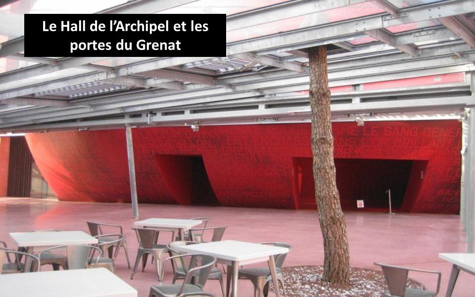Le Hall de lArchipel et les portes du Grenat