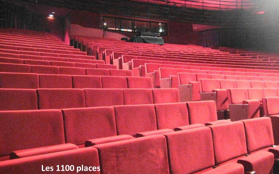 La salle Les 1100 places