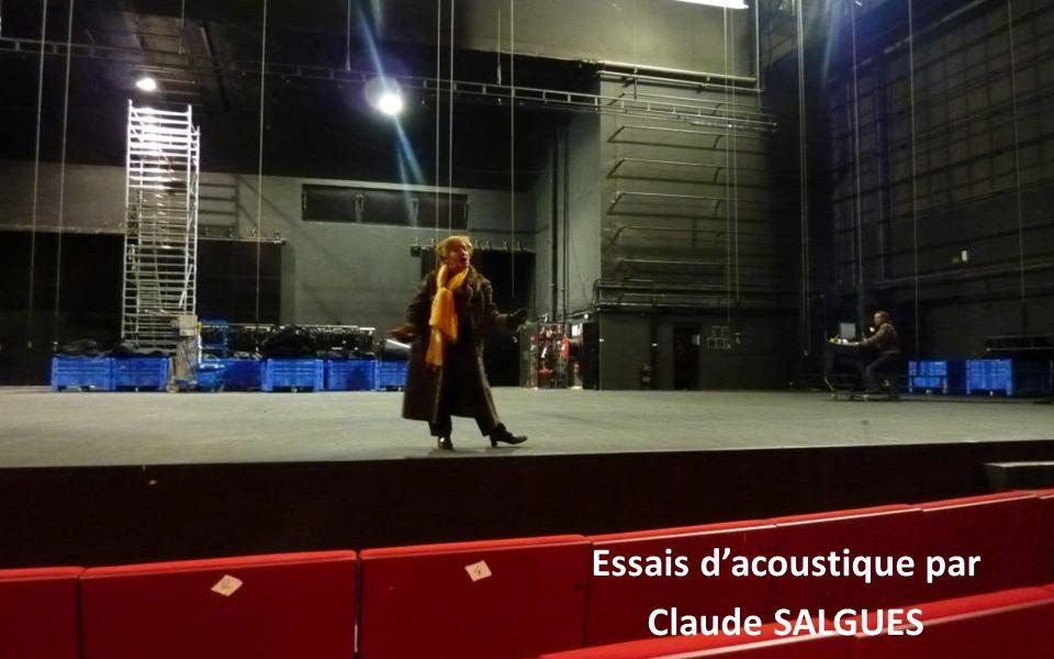 Essais dacoustique par Claude SALGUES
