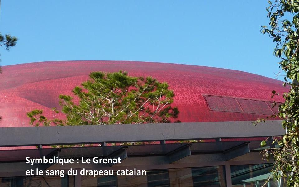Symbolique : Le Grenat et le sang du drapeau catalan