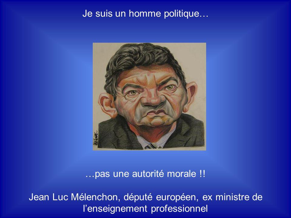 Comme disait ma grand-mère, il faut mépriser les hauts … …et repriser les bas... Jacques Chirac, président de la République