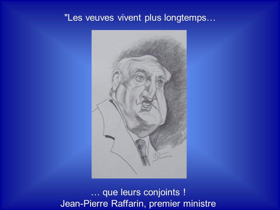 La droite et la gauche… ce n'est pas la même chose ! Pierre Mauroy, premier ministre