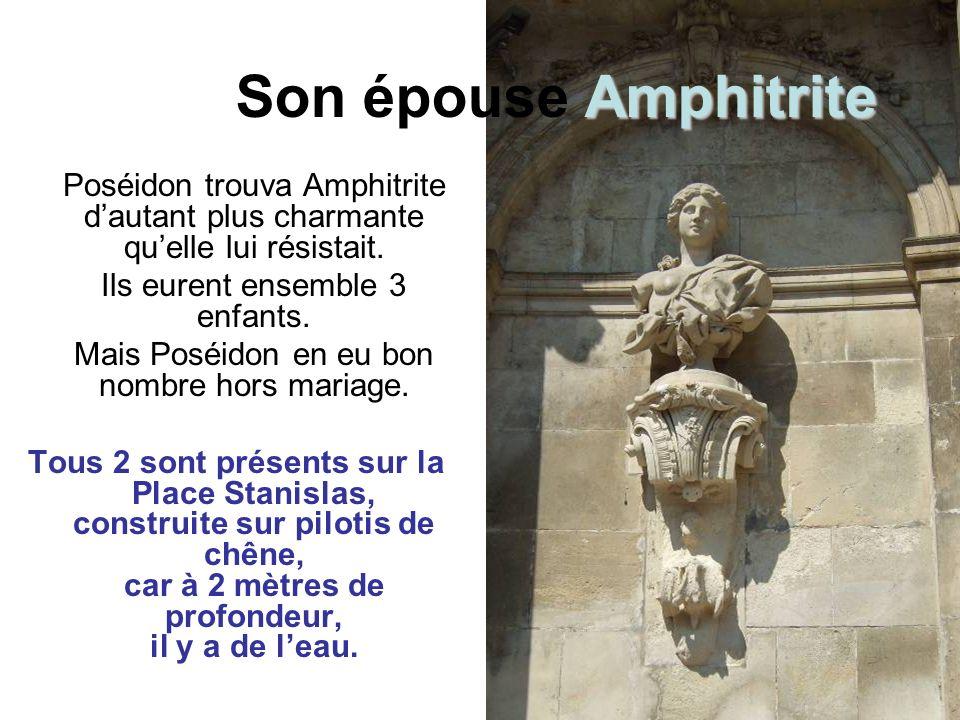 Poséidon Poséidon Neptune chez les Romains est le dieu des mers et des océans en furie, ainsi que l « ébranleur du sol » dieu des tremblements de terre et des sources.