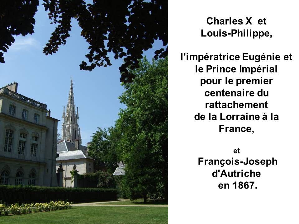 Devenu la préfecture, en 1824, y furent reçus :