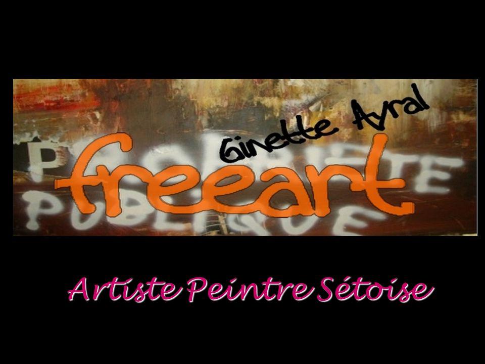 Rétrospective d une vie de peinture FREE ART GINETTE AYRAL