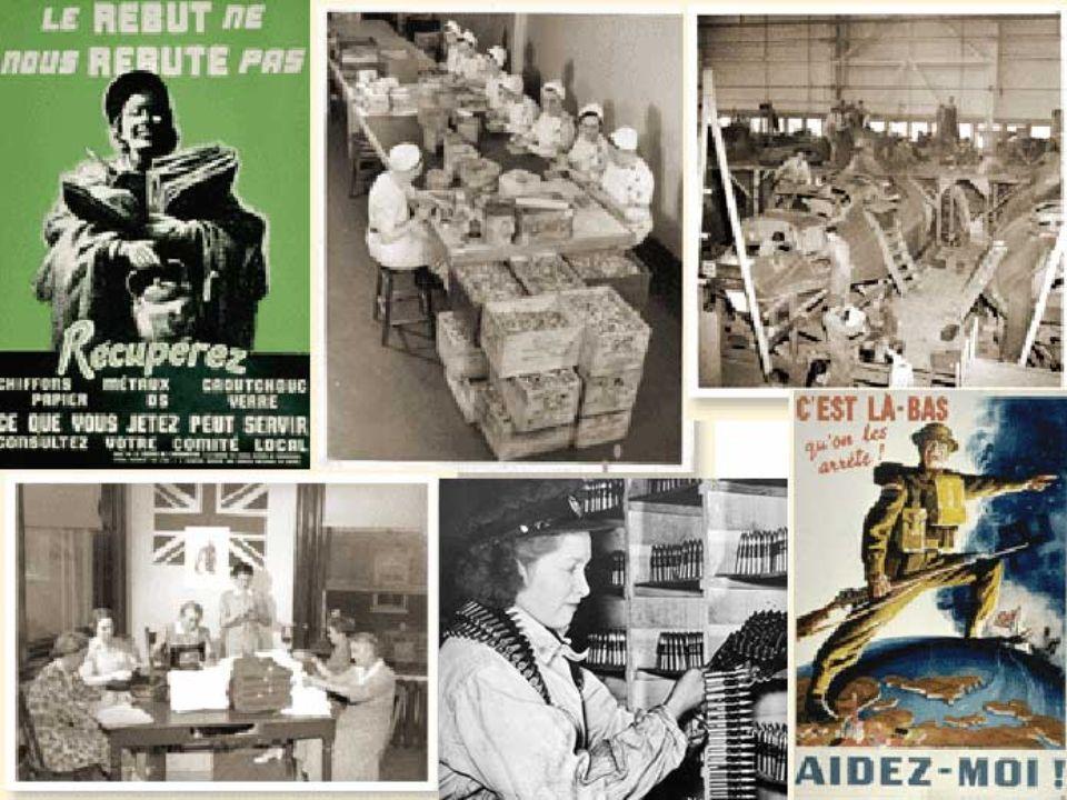 7.1 Les effets de la Seconde Guerre mondiale sur le Québec 7.1.1 Leffort de guerre De la population Des femmes De lindustrie Des militaires