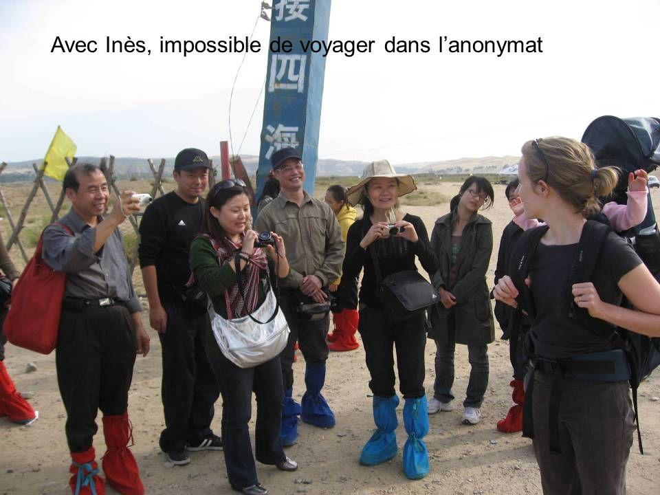 Avec Inès, impossible de voyager dans lanonymat
