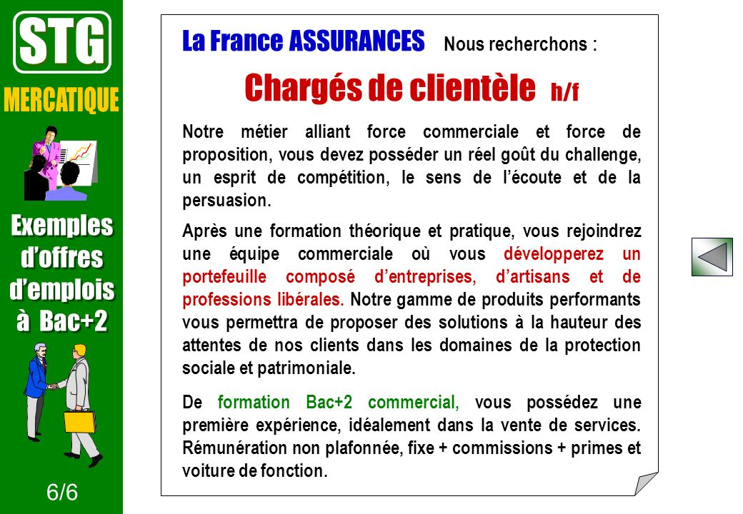 Un mini-site en lien avec la collection INFOSUP www.onisep.fr/infosup/stg Document consultable au CDI du lycée 1/8