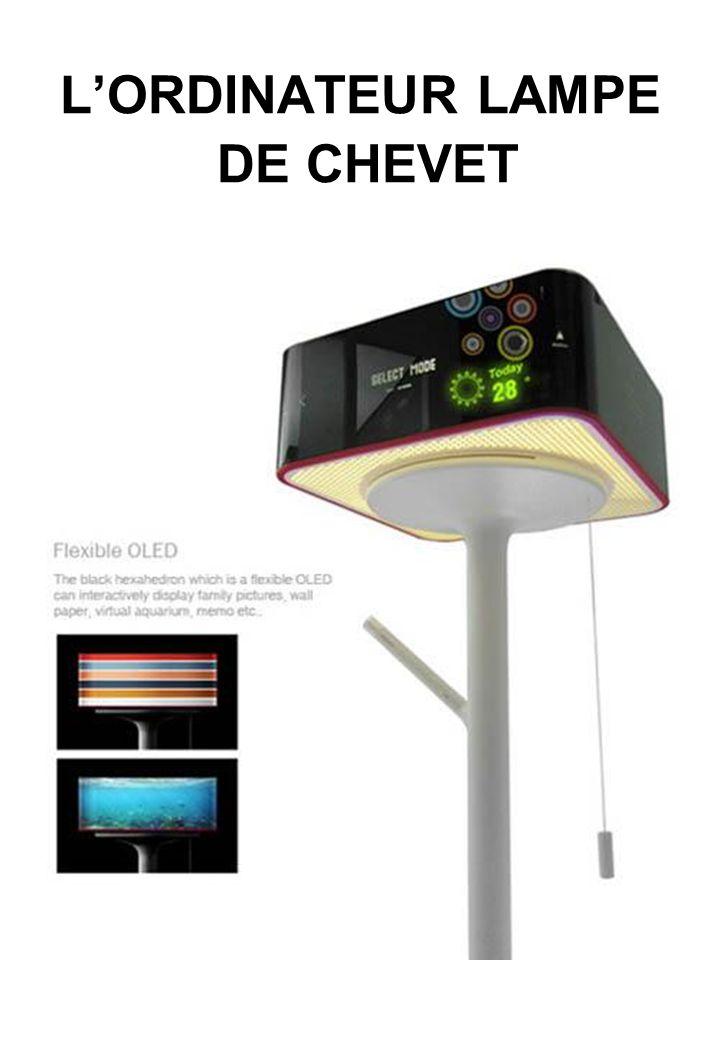 LORDINATEUR LAMPE DE CHEVET