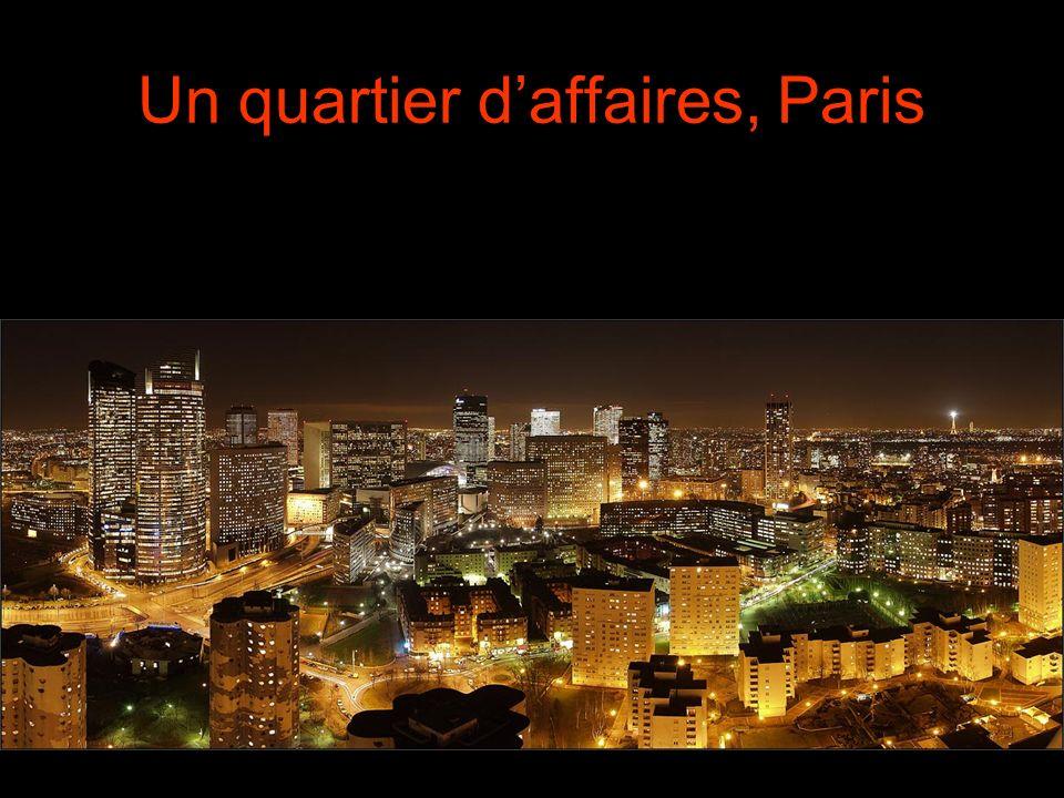 Un quartier daffaires, Paris