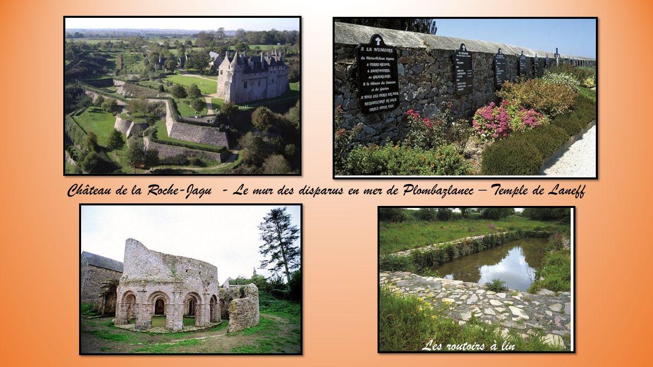 à visiter aux environs : Chapelle de Kermaria et ses fresques – la tour de Kerroch.