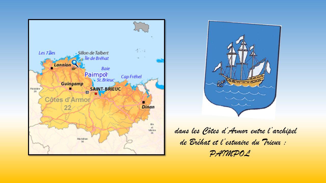 dans les Côtes dArmor entre larchipel de Bréhat et lestuaire du Trieux : PAIMPOL