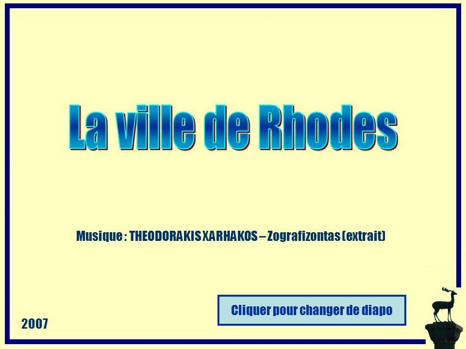 Cliquer pour changer de diapo Musique : THEODORAKIS XARHAKOS – Zografizontas (extrait) 2007