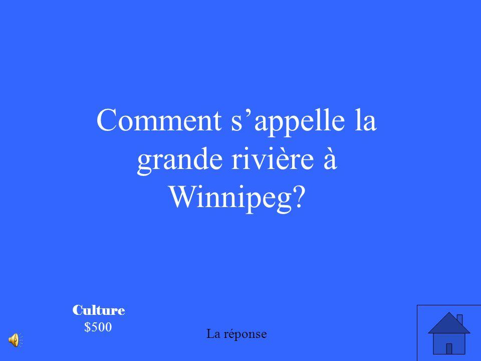 Culture $400 Le grand festival à Saint- Boniface en février sappelle : Le Festival du Voyageur.