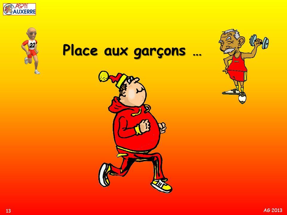 AG 2013 13 Place aux garçons …