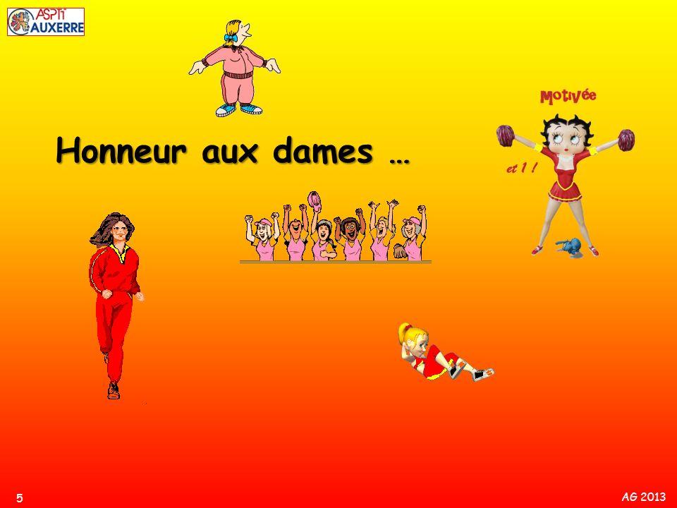 AG 2013 Honneur aux dames … 5