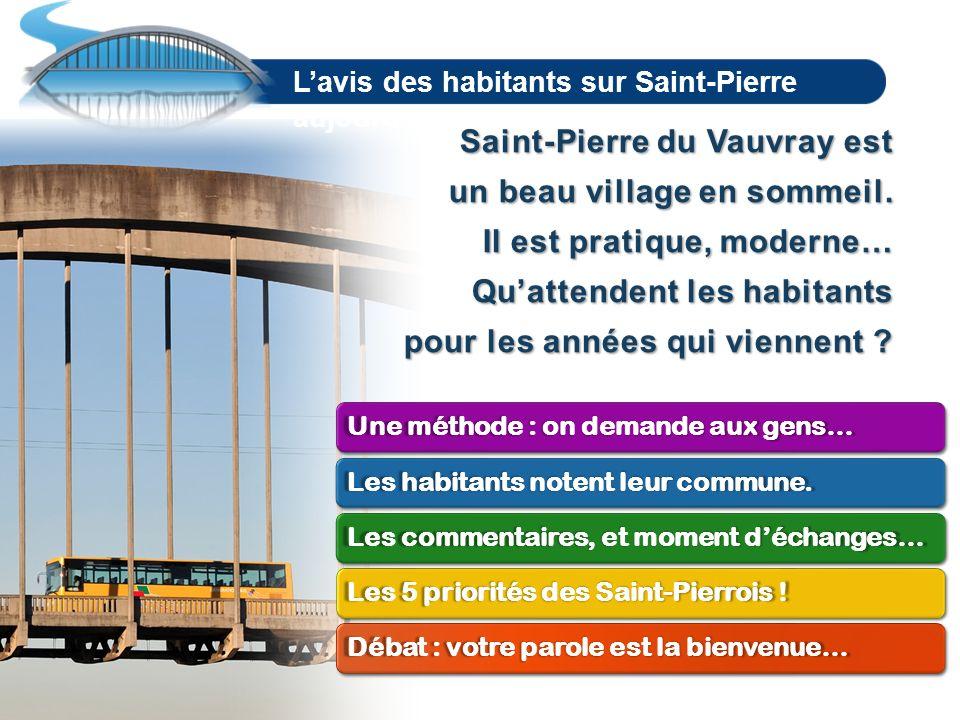 La promesse dun avenir mieux partagé AVANÇONS ENSEMBLE EN 2014 POUR SAINT-PIERRE DU VAUVRAY www.saintpierre2014.fr