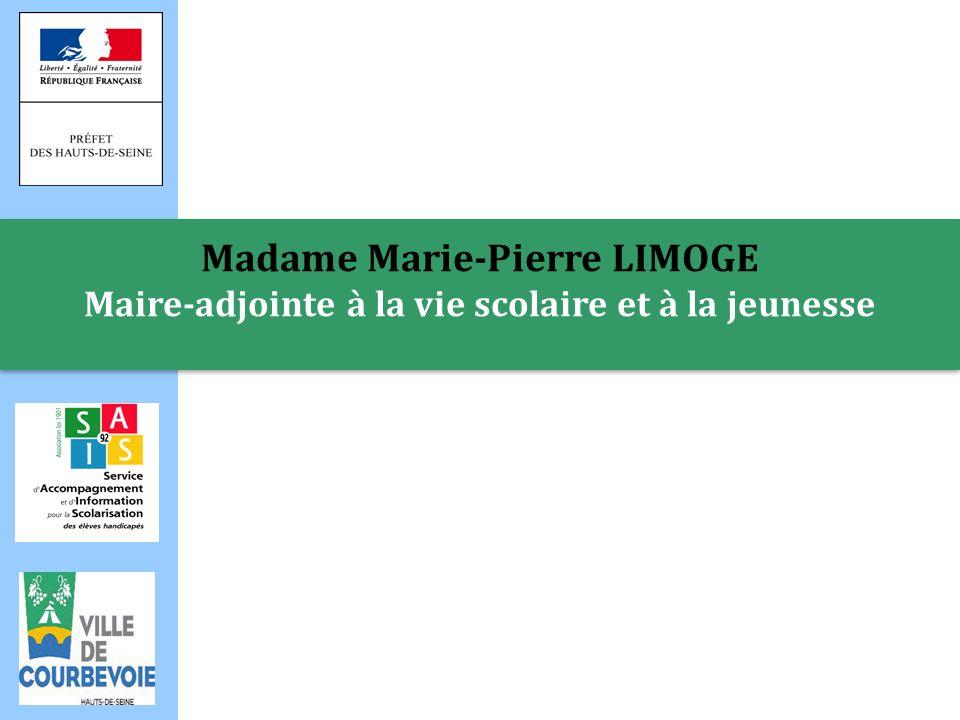 Madame Martine LEVENTIC Maire-adjointe à la petite enfance, à laction sociale et au handicap Madame Martine LEVENTIC Maire-adjointe à la petite enfance, à laction sociale et au handicap