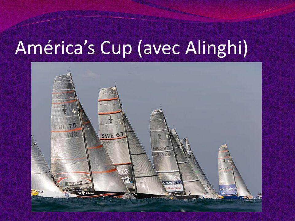 Américas Cup (avec Alinghi)