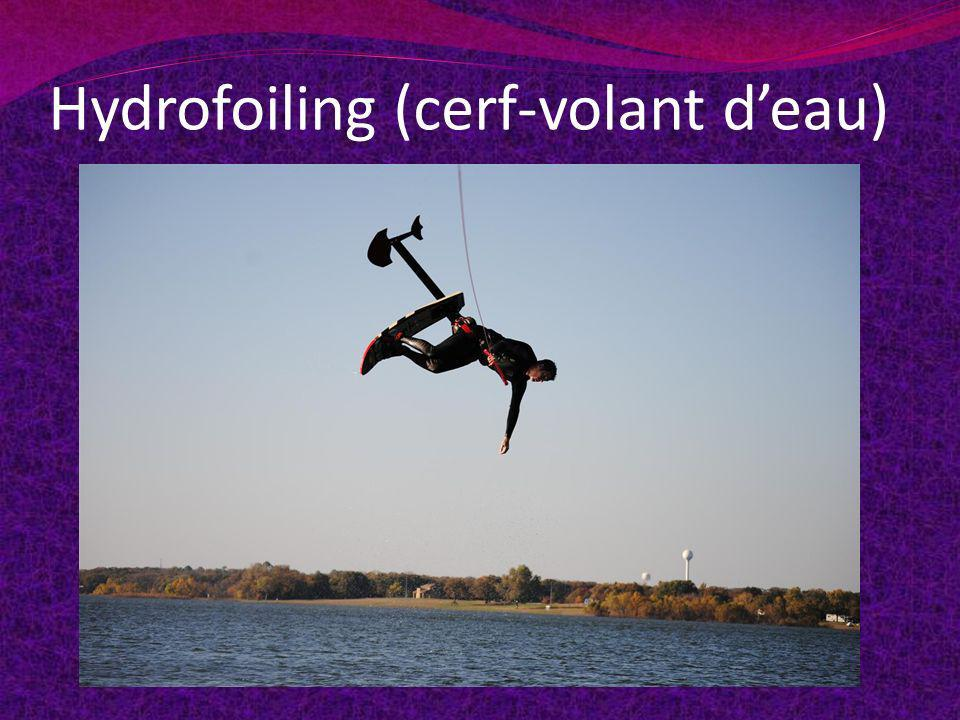Hydrofoiling (cerf-volant deau)