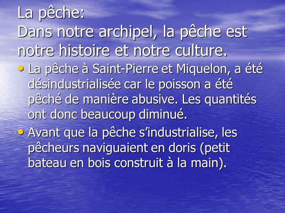 La pêche: Dans notre archipel, la pêche est notre histoire et notre culture.