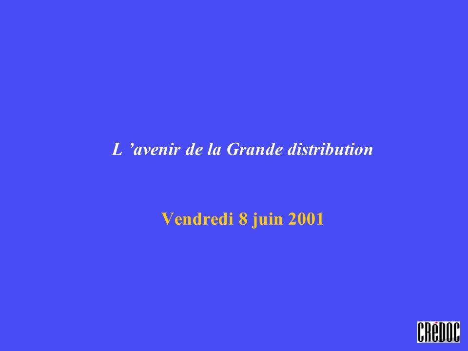 L avenir de la Grande distribution Vendredi 8 juin 2001