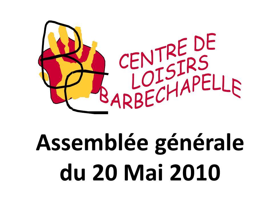Assemblée générale du 20 Mai 2010