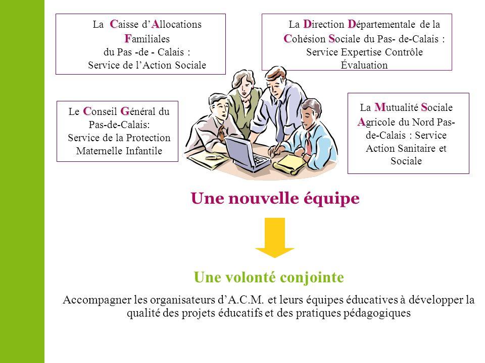 DD CS La D irection D épartementale de la C ohésion S ociale du Pas- de-Calais : Service Expertise Contrôle Évaluation CA F La C aisse d A llocations