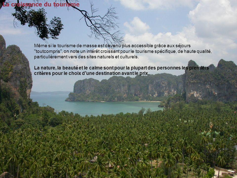 Le tourisme et ses activités economiques associées, génère 11 % du PIB mondial, emploie plus de 200 millions de personnes (8% des emplois totaux).
