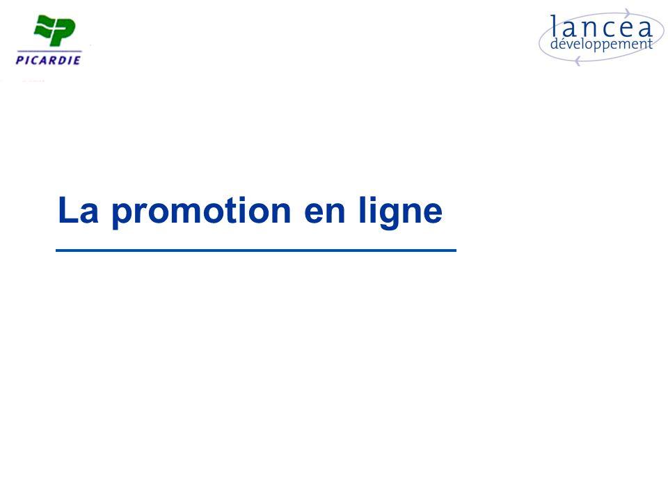 La promotion en ligne