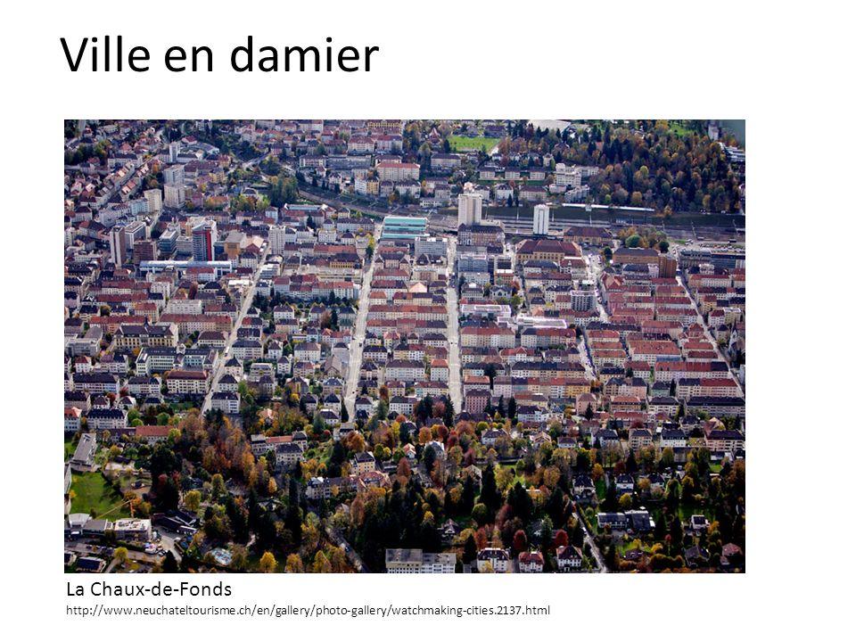 Ville en damier La Chaux-de-Fonds http://www.neuchateltourisme.ch/en/gallery/photo-gallery/watchmaking-cities.2137.html