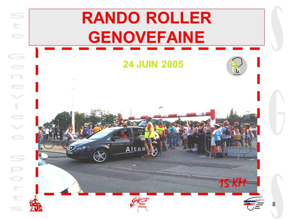 8 RANDO ROLLER GENOVEFAINE 24 JUIN 2005 15 KM