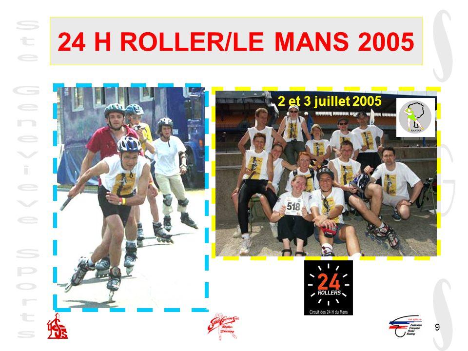 9 24 H ROLLER/LE MANS 2005 2et 3 juillet 2005