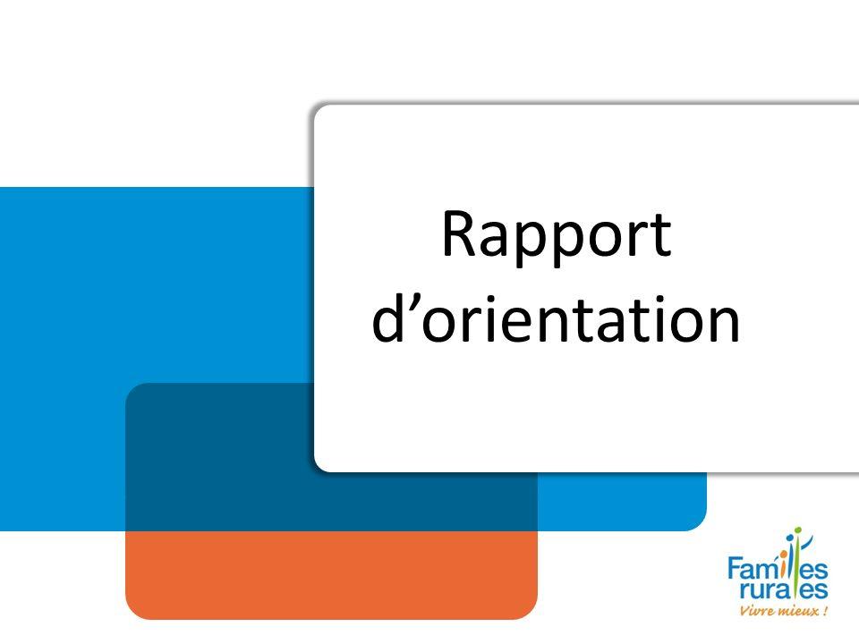 Rapport dorientation