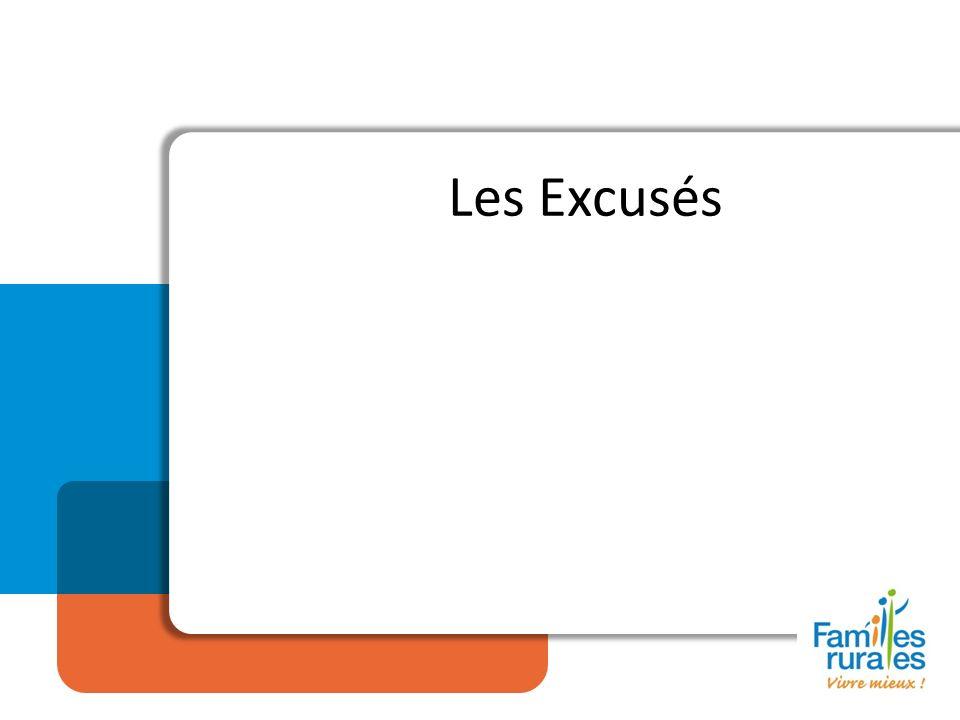 Les Excusés