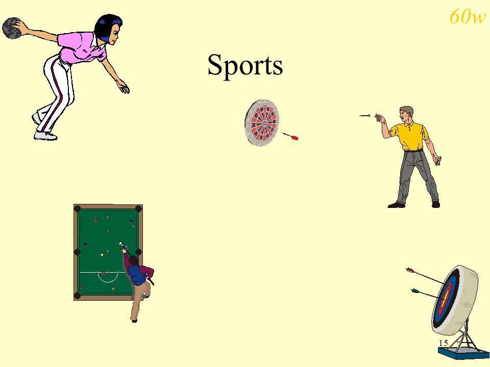 15 Sports 60w
