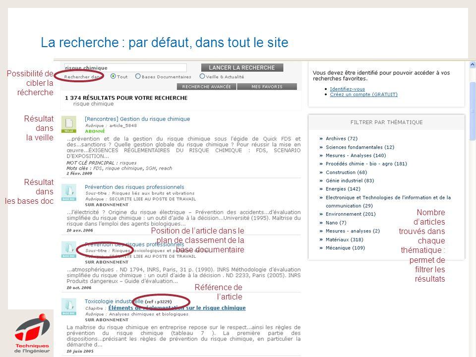 | 08/2008 |PRESENTATION DE L'ENTREPRISE 21 | 26.04.2014 |Migration ADV | MMoriquand 21 La recherche : par défaut, dans tout le site Droits Résultat da