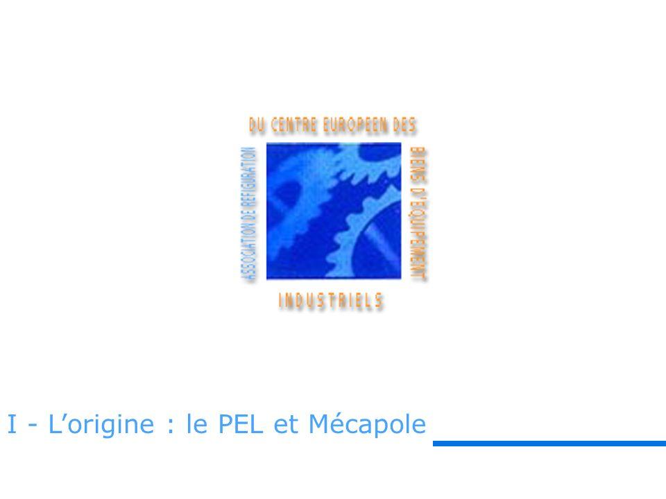 I - Lorigine : le PEL et Mécapole