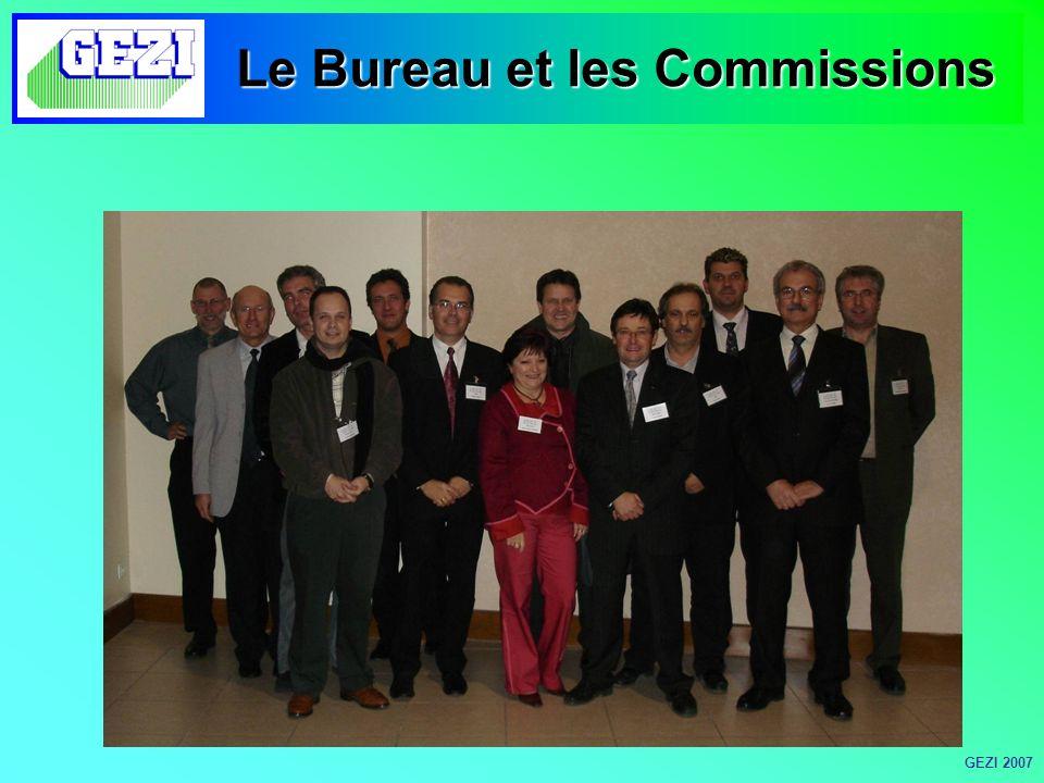 Le Bureau et les Commissions GEZI 2007