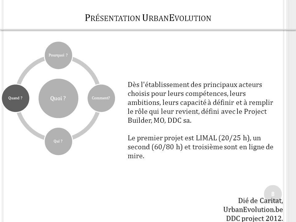 PRINCIPES UE 9 Principes de fonctionnement du concept UrbanEvolution: A.