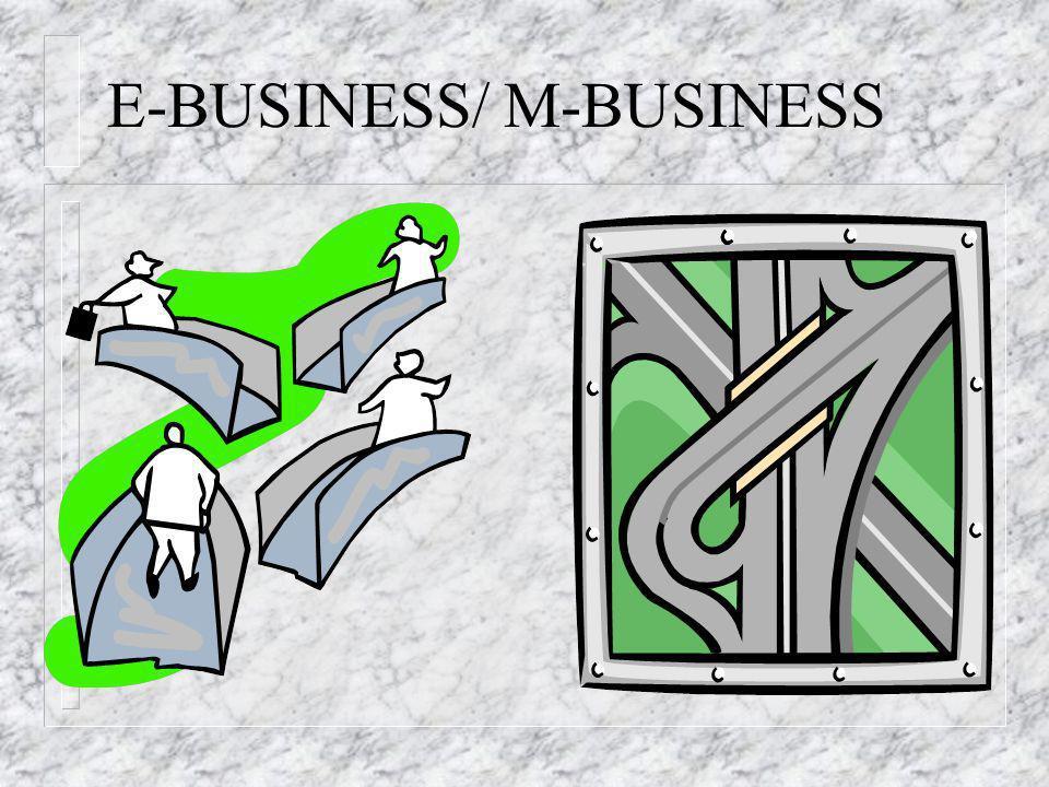 E-BUSINESS/ M-BUSINESS
