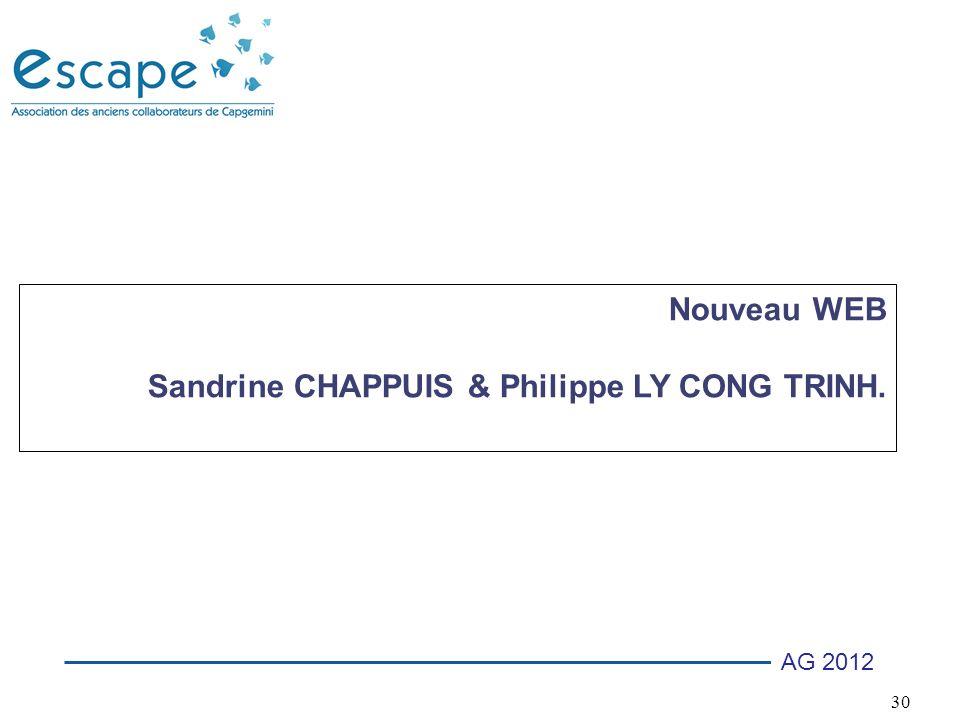 30 AG 2012 Nouveau WEB Sandrine CHAPPUIS & Philippe LY CONG TRINH.